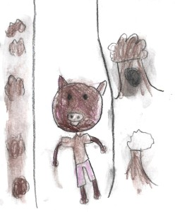 Nate the Pig, a picture book by PJC, illustrated by Savannah Nau