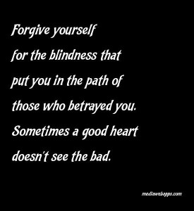 The Final Forgiveness: Self