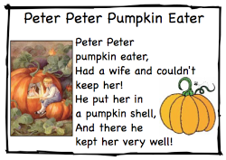 Peter the Pumpkin Eater