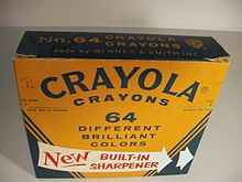 64-color Crayola Box
