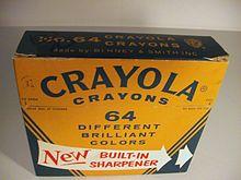 64-color Crayola Box