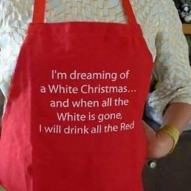 Red vs White for Christmas Past, Present, and Future