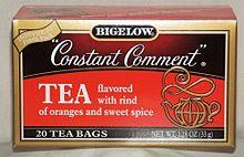 Constant Comment, my mother's favorite tea