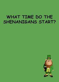 If Everyone is Irish one day of the year…