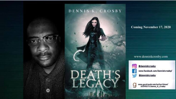 Q & A with an author pal, Dennis Crosby