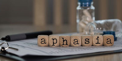 Aphasia is not an April Fool Trick
